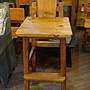 原木工坊~ 原木家具堅持台灣製造  歐式鄉村風吧檯椅
