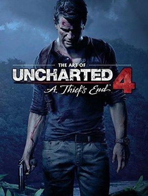 日版漫畫神秘海域4設定集畫集The Art of Uncharted 4精裝本