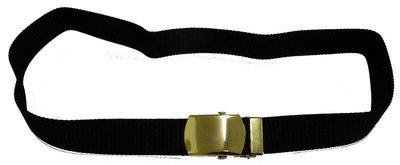 軍服系列之皮帶+免擦銅環 黑沙帶 皮帶 軍便服 42腰長度