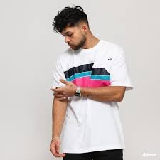 FOCA adidas originals Ripple 短袖 彩帶 愛迪達 男款 短T  白色 fm1531 彩虹