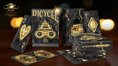 Bicycle Evolve Playing Cards by Elite Playing Card