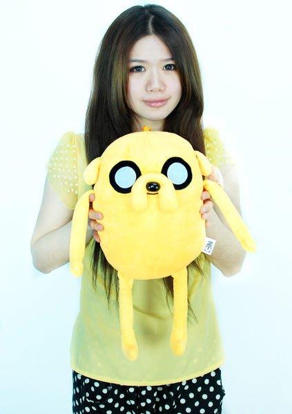 拉拉小站~Adventure Time AT 探險活寶~正版~老皮玩偶~高45cm~小朋友最愛