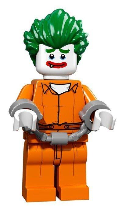 現貨【LEGO 樂高】Minifigures人偶系列: 蝙蝠俠電影人偶包抽抽樂 71017 | #8 阿卡漢療養院小丑