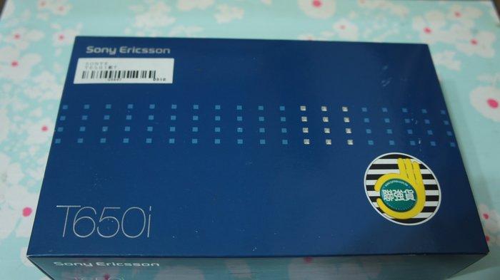 SONY ERICSSON T650i 手機 盒裝