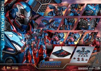hottoys 1/6 Avengers:Endgame Iron Patriot 28/7 訂單