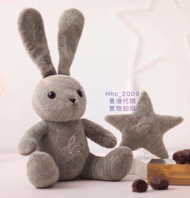 包順丰 香港代購專櫃Agnes b.Delices 16秋冬新款聖誕限量版兔子毛公仔