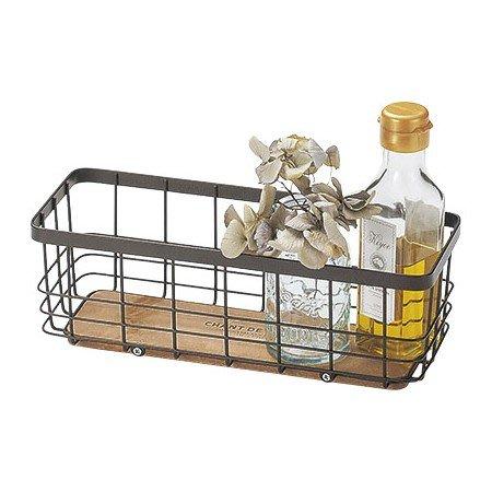 《齊洛瓦鄉村風雜貨》日本zakka雜貨 長方形收納架 桌上收納架 調味罐收納架 小東西收納架