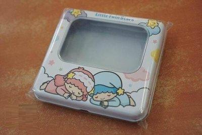 全部完售! 雙星仙子 白日夢 方型開窗鐵置物盒 雙子星 Little Twin kikilala Sanrio 三麗鷗