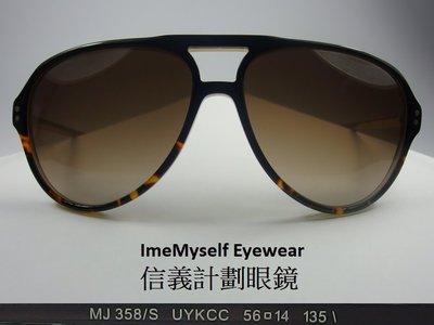 ImeMyself Eyewear Marc Jacobs MJ358/S Sunglasses Rivet frame