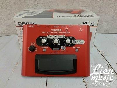 現貨到『立恩樂器 效果器專賣』免運優惠 BOSS VE-2 Vocal Echo 人聲 和聲 主唱 效果器 VE2