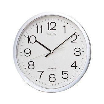 SEIKO CLOCK日本 精工 標準型 時鐘 掛鐘 QXA014S 公司貨 直徑31.1 *3.9cm (神梭鐘錶)含稅