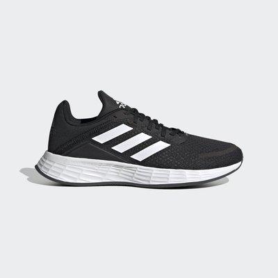 南◇2021 3月 ADIDAS DURAMO SL 運動鞋 黑色 FX7307 訓練 黑白色 愛迪達 女生 大童