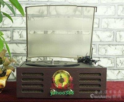 美學78仿古唱片機 古典電唱機 老式留聲機 LP黑膠唱機 帶音響3477❖7413