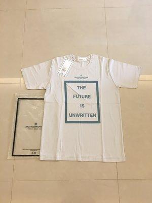 全新正品 NEXHYPE Future is Unwritten T-shirt  SZ:L 定價1200