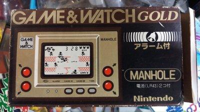 game & watch manhole 過橋揪板 日版 有盒書
