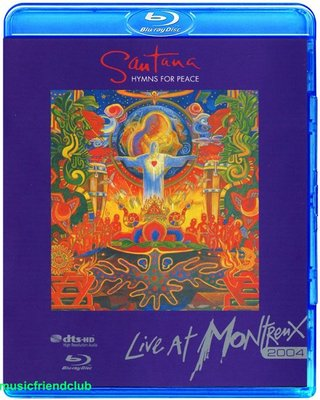 高清藍光碟 Santana Hymns For Peace Live At Montreux 2004 (藍光BD25G)