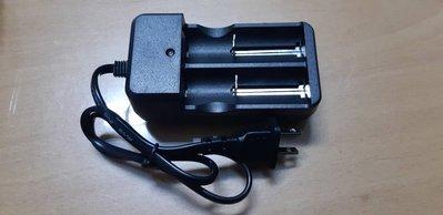 鋰電池 帶線雙槽雙座 萬能 充電器 26650 18650 14500鋰電池 只賣49元