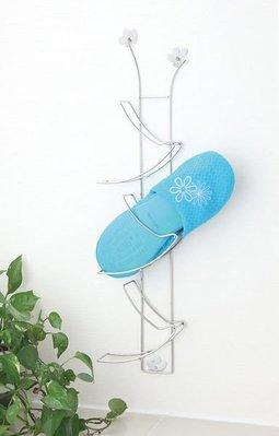 ☆成志金屬☆S-9-3A #304不鏽鋼花朵鞋架、拖鞋架,可高低跳躍式並列組合,輕巧好收納