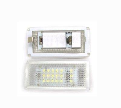 2x 汽車牌照燈 BMW寶馬 E46 2D(98-03)白光  LED解碼license plate