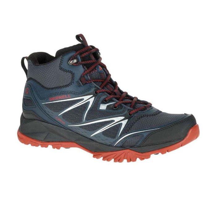 [WALKER 休閒運動]  MERRELL  GORE-TEX 輕量高筒登山健行鞋 35719