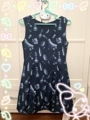 【bauhaus】專櫃正品TOUGH salad 藍色無袖洋裝/連身裙~S