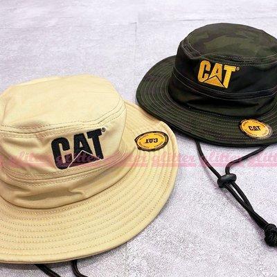 glitter。Caterpillar Cat Trademark Safari 綁帶 登山帽 漁夫帽 綁帶 美國 工裝