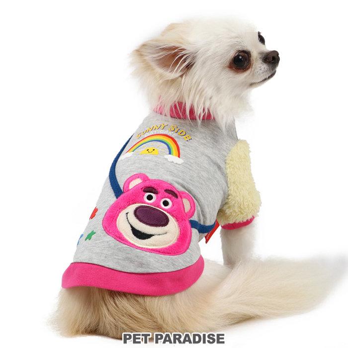 貝果貝果 日本 pet paradise 代理 DISNEY 玩具總動員 可愛彩虹熊抱哥圓領衫 [D13184]