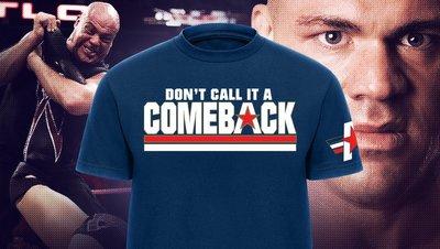 ☆阿Su倉庫☆WWE摔角 Kurt Angle Comeback T-Shirt 安格回歸最新款 預購中