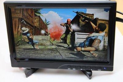 PS4 10.1吋 高清便攜顯示器1080P 手提式遊戲屏幕 Gaming Monitor 電競遊戲屏幕
