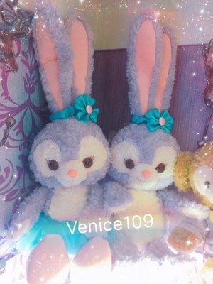 Venice維娜絲日本連線代購東京迪士尼海洋樂園新角色~史黛拉兔StellaLou #s號娃娃#現貨
