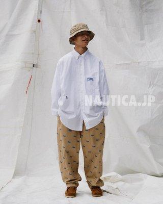 "TSU 日本代購 NAUTICA JP 長谷川昭雄 STACKS  ""TOO BIG""  聯名襯衫"