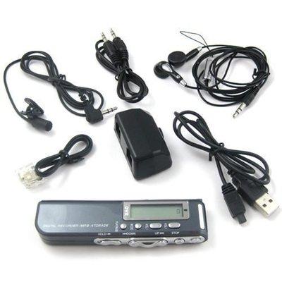 可換電池 多功能 內建GB 超長待機 聲控錄音筆 錄音指示 電話錄音 手機錄音 複讀 MP3