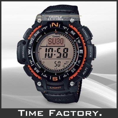 【時間工廠】全新 CASIO 大錶徑 多功能登山錶 SGW-1000B-4A(1000 4)
