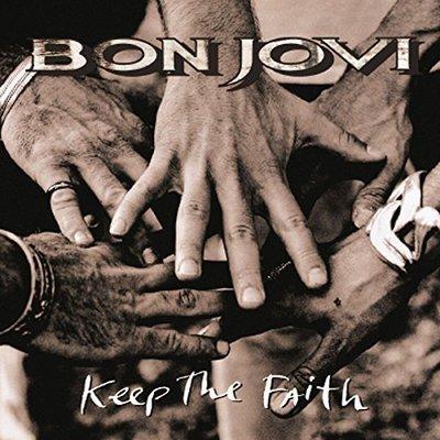 【黑膠唱片LP】堅持信念 Keep The Faith/邦喬飛 Bon Jovi ---4702934