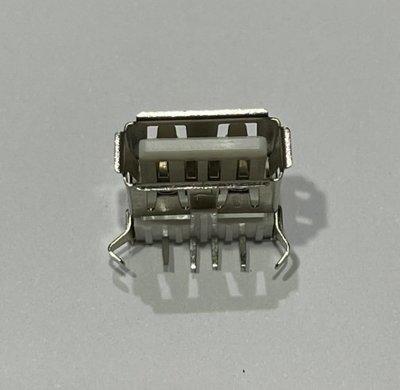 ►190◄(2個3元) USB-A母座 90度 彎腳 USB-A USB插座 DIY 接頭 充電器電源改裝必備件 桃園市