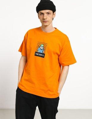 〔Bigforty〕Plar Skate CO - Robbery T-shirt (bright orange) 橘