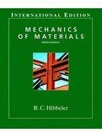 老殘二手書 Mechanics of Materials 0131918990 Pearson Education R.