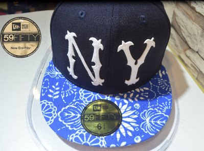 New Era Coopers Town NY Yankees Floral Series 復古洋基貼布繡花紋系列全封帽