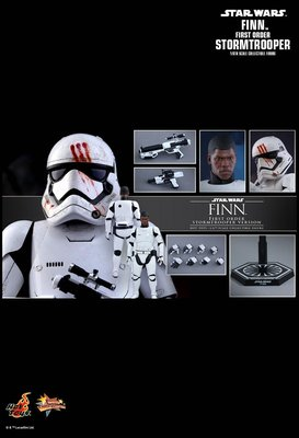 限定 Hot Toys MMS367 DX12 1/6 Star Wars 星球大戰 原力覺醒 白兵Finn STORMTROOPER Figure 玩具狂熱