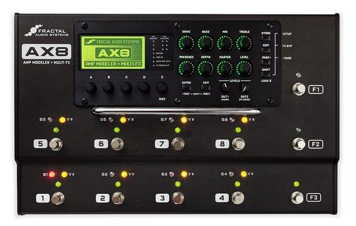 ☆唐尼樂器︵☆ Fractal Audio AX8 超強大地板型電吉他綜合效果器(另有 Axe Fx II XL+)