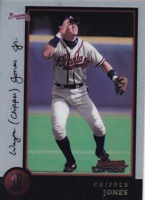 1998 Bowman Chrome #70 Chipper Jones