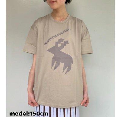 ☆Chia sweet shop☆現貨感謝季優惠日本設計師宇津木Mercibeaucoup,北歐閃電鹿角棉質短袖上衣t恤