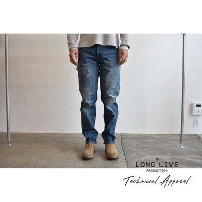 【小囧妹香港正品代購】 VISVIM SOCIAL SCULPTURE DAMAGED-14 D14 水洗牛仔褲 18SS
