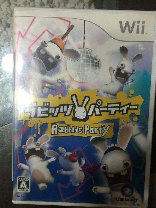 Wii【雷射超人瘋狂兔子派對】Rabbids party 日版日文 原版遊戲片 雷曼兔 多人同樂小遊戲 wiiu可玩