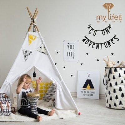 〖洋碼頭〗兒童帳篷室內遊戲屋公主折疊戶外攝影帳篷道具印第安帳篷 mlb125