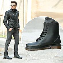 韓版男鞋 歐美時尚型男馬丁雨鞋男磨砂防滑耐磨雨靴PVC膠鞋休閑短款男水鞋