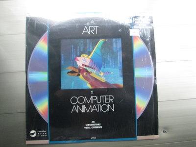 LD影碟(片況佳)Computer Animation電腦特效動畫Art專輯