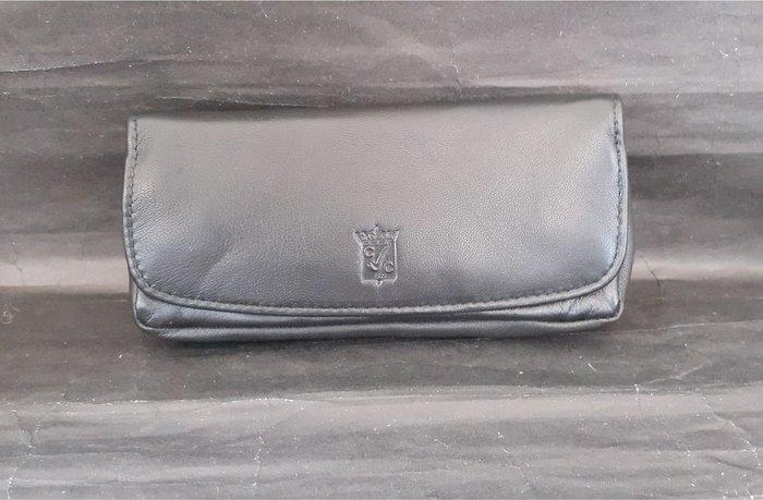 ONE*$1~法國CHACOM磁鐵扣《單支煙斗袋 》小牛皮附:工具袋/菸草袋