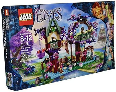 全新正貨 樂高 LEGO 41075 Elves The Elves' Treetop Hideaway
