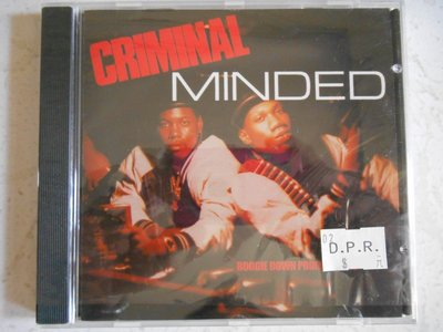 Boogie Down Productions - Criminal Minded 進口美版